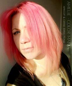 Merci Amélie :) Coloration Cheveux Rose Cerise - Directions | Color-Mania