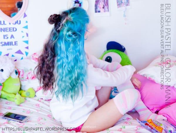 Grazie BlushPastel! :) - Hair Colour Blue Lagoon - Indicazioni (su Alpine Green - Indicazioni stradali sgorgate)