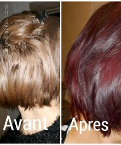 Merci Charlene :) Coloration Cheveux Rouge