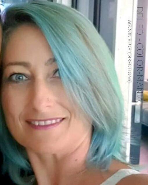 Merci Del FD :) Coloration Cheveux Bleu Lagon – Directions - Dilué | Color-Mania
