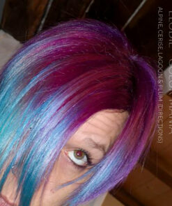 Merci Elodie :) Coloration Cheveux Bleu Lagon – Directions | Color-Mania