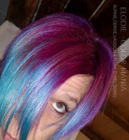 Merci Elodie :) Coloration Cheveux Bleu Lagon – Directions | Color-Mania