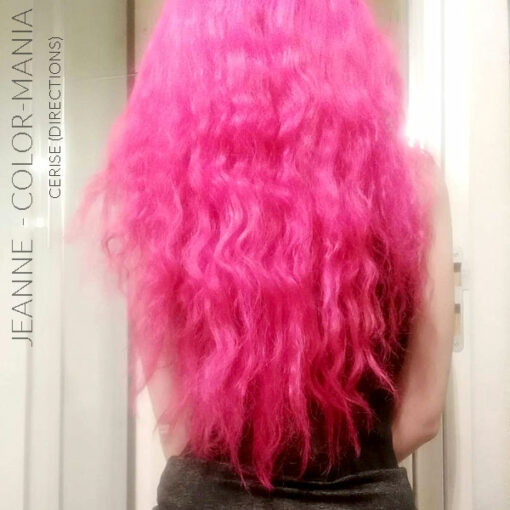 Merci Jeanne :) Coloration Cheveux Rose Cerise - Directions | Color-Mania