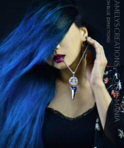 Merci MekaMelys Creations :) Coloration Cheveux Bleu Lagon – Directions | Color-Mania