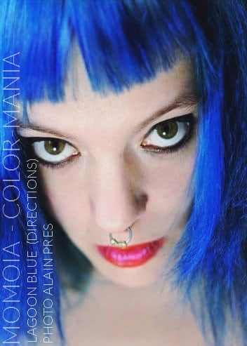 Merci Momoia :) Coloration Cheveux Bleu Lagon – Directions   Color-Mania
