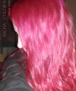 Merci Sacha :) Coloration Cheveux Rose Cerise - Directions | Color-Mania