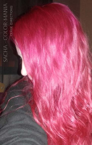 Merci Sacha :) Coloration Cheveux Rose Cerise - Directions | Color-Mania