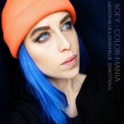 Merci Sofy :) Coloration Cheveux Bleu Denim Blue - Directions | Color-Mania
