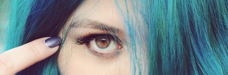 Tête de Thon Cheveux Bleus Misery Artwork