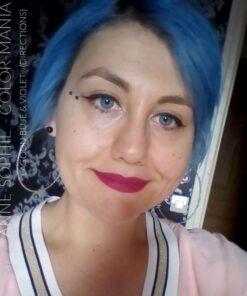 Merci Anne-Sophie :) Coloration Cheveux Bleu Lagon – Directions | Color-Mania
