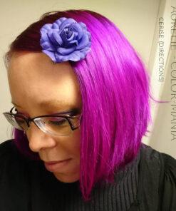 Merci Aurélie :) Coloration Cheveux Rose Cerise - Directions | Color-Mania