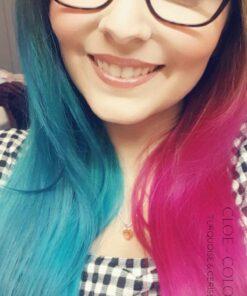 Merci Cloë :) Coloration Cheveux Turquoise - Directions | Color-Mania