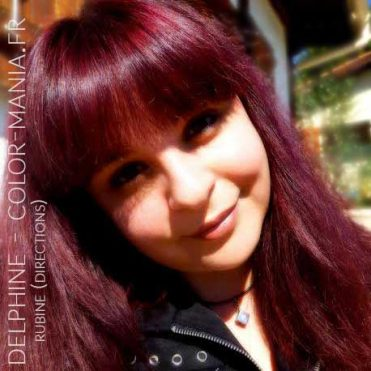 "Merci Delphine :) Coloration Cheveux Rouge ""Rubine"" - Directions"