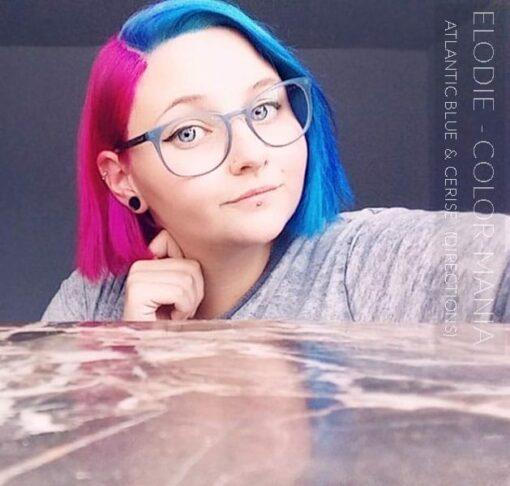 Merci Elodie :) Coloration Cheveux Bleu Atlantique - Directions | Color-Mania