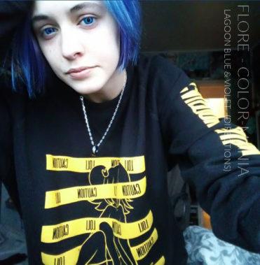 Gracias Flore :) Coloración del cabello violeta - Direcciones | Color-Mania