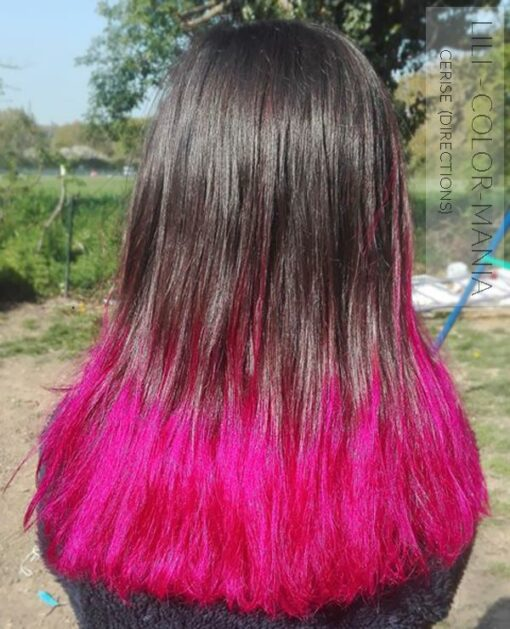 Merci Lili :) Coloration Cheveux Rose Cerise - Directions | Color-Mania
