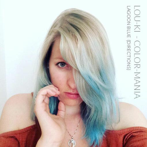 Merci Lou-ki :) Coloration Cheveux Bleu Lagon – Directions | Color-Mania
