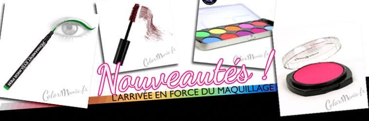 maquillage color mania les nouveautés