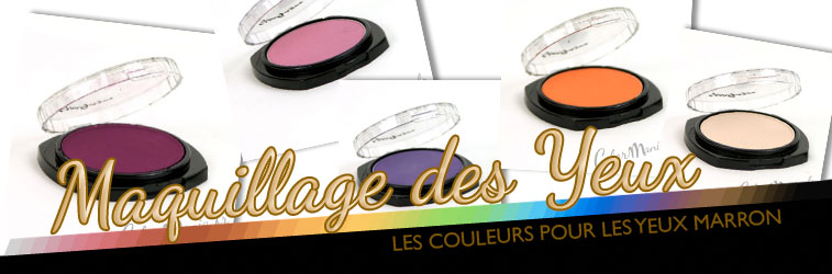 color mania maquillage yeux marron