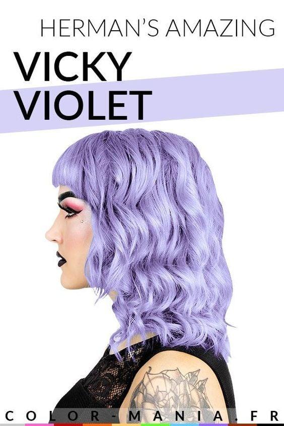Exemple de coloration Vicky Violet Herman's Amazing