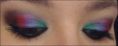 Itw Color-Maniac Mint-Water Maquillaje Negro Rainbow