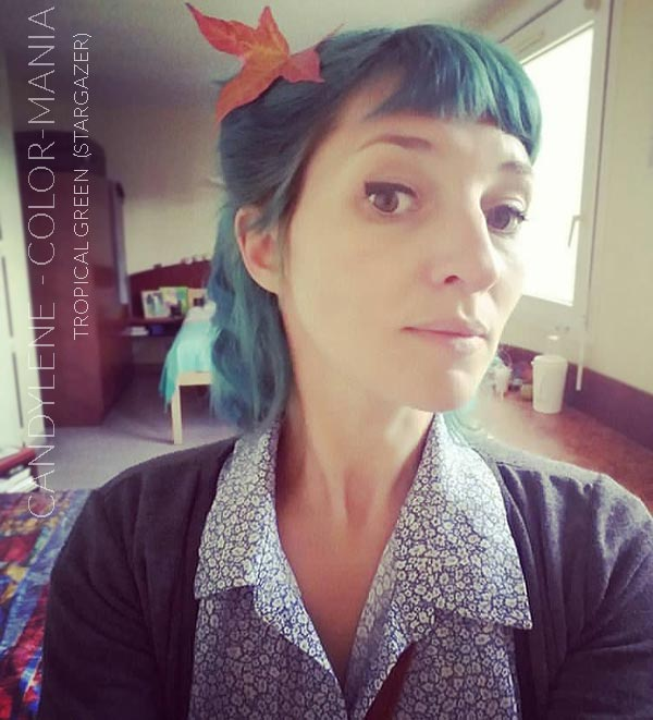 Merci Candylene :) Coloration Cheveux Vert Tropical - Stargazer | Color-Mania
