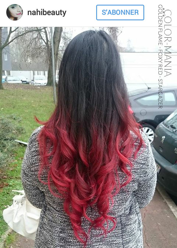 Rouge - Merci Nahi :) Coloration Cheveux Golden Flame - Stargazer