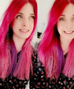 Merci @yuukioce :) Coloration Cheveux Rose Bonbon - Directions | Color-Mania