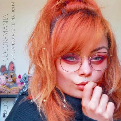 Merci @dollyyneo :) Coloration Cheveux Mandarine – Directions   Color-Mania