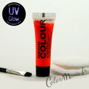 Maquillage UV Phosphorescent Orange Fluo – Stargazer