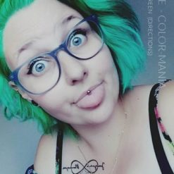 Merci Elodie :) Coloration Cheveux Vert Pomme – Directions | Color-Mania