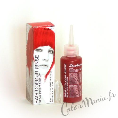 Coloration Cheveux Rouge Flamme - Stargazer