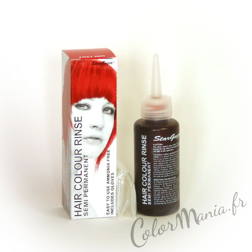Color de pelo rojo Foxy - Stargazer