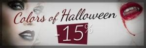 Promo Color-Mania: 15% de descuento para Halloween