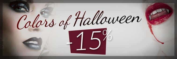 Promo Color-Mania : 15% de réduction pour Halloween