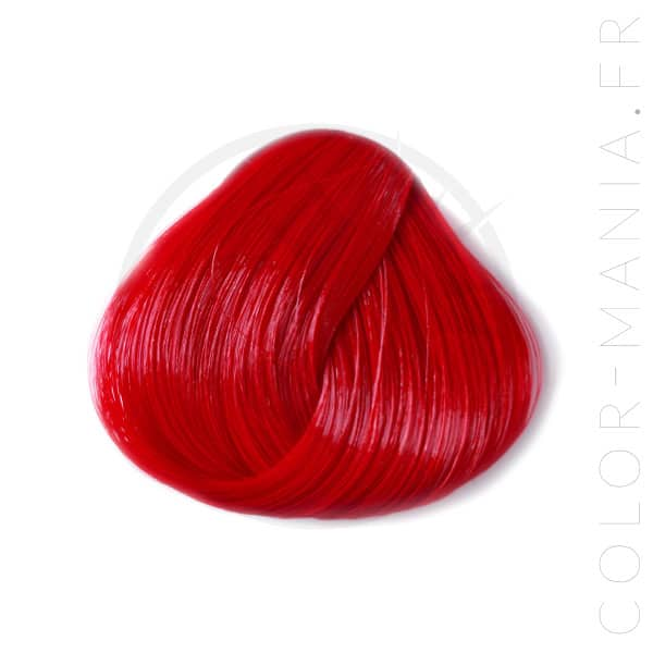 "Coloration Cheveux Rouge ""Pillarbox"" – Directions 