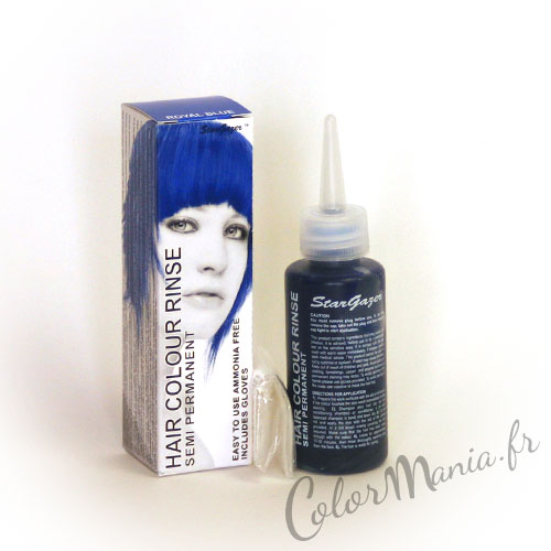 Coloration Cheveux Bleu Royal - Stargazer