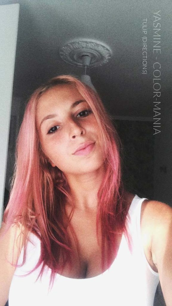 Merci Yasmine :) Coloration Cheveux Rose Tulipe – Directions | Color-Mania