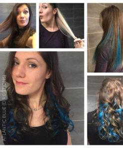 Merci @lili.house :) Coloration Cheveux Bleu Atlantique - Directions | Color-Mania