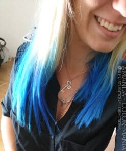 Merci Amanda ! :) - Coloration Cheveux Bleu Atlantique - La Riché Directions - Color-Mania