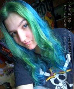 Grazie Caroline :) Colore dei capelli Verde mela - Indicazioni | Color-Mania