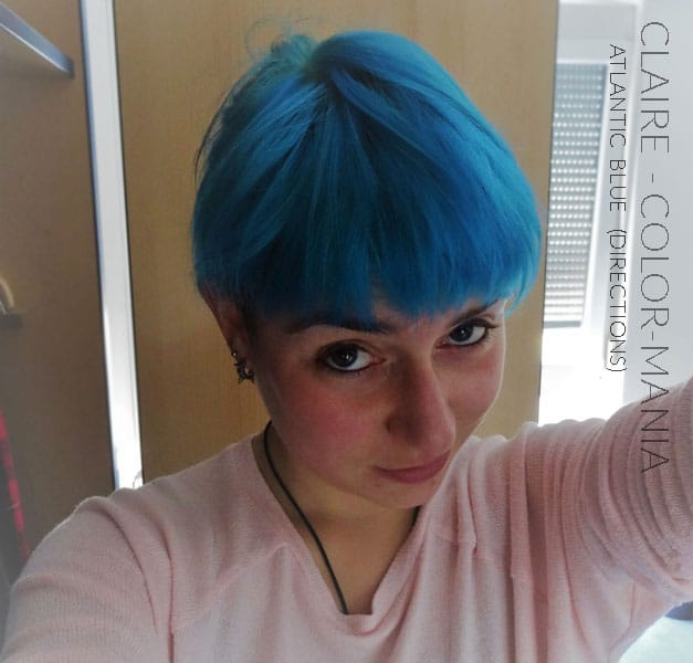 Merci Claire :) Coloration Cheveux Bleu Atlantique - Directions | Color-Mania