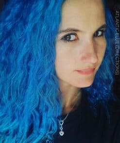 Merci Justine :) Coloration Cheveux Bleu Atlantique - Directions | Color-Mania