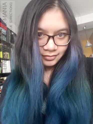 Merci Lindsay :) Coloration Cheveux Bleu Atlantique - Directions | Color-Mania