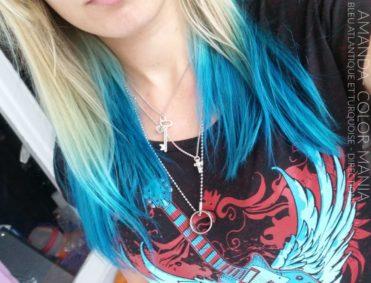 Merci Amanda ! :) - Coloration Cheveux Bleu Atlantique et Turquoise - La Riché Directions - Color-Mania