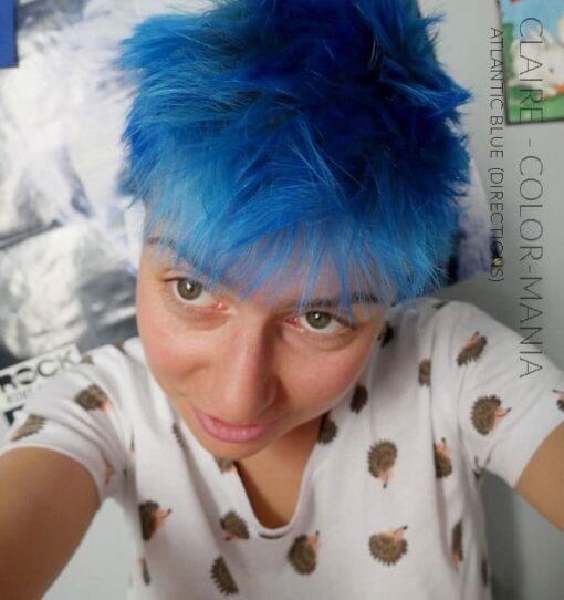 Merci Claire :) Coloration Cheveux Bleu Atlantique - Directions | Color-Mania