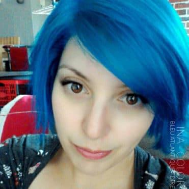 Bleu - Merci Ina :) Coloration Cheveux Bleu Atlantique - Directions