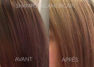 lasciare un colorante americano per colorare lo shampoo