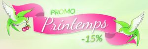 Promo C'est le Printemps ! | Color-Mania
