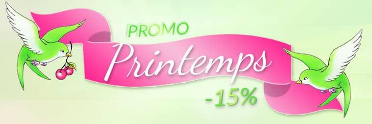 Promo C'est le Printemps ! | Color-Mania